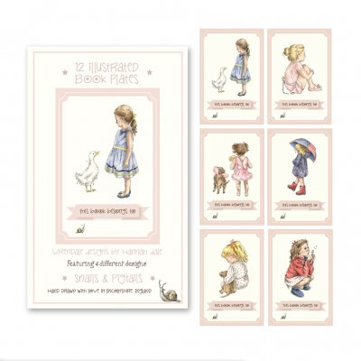 BP001 - Girls Bookplates