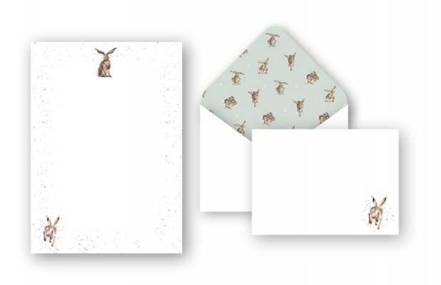 L004 Good Hare Day Letter Writing Set