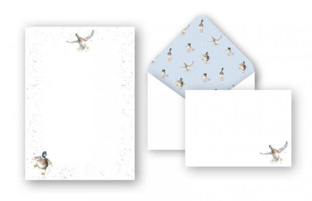 L002 The Crash Landing Mallard Letter Writing Set